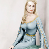 THE BLACK SHIELD OF FALWORTH, Janet Leigh, 1954 Photo