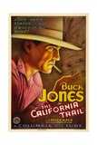 THE CALIFORNIA TRAIL, Buck Jones, 1933 Print