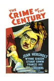 THE CRIME OF THE CENTURY, bottom left: Frances Dee, right: Jean Hersholt, 1933. Prints