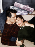 ALL THAT HEAVEN ALLOWS, from left: Rock Hudson, Jane Wyman, 1955 Photo