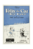 Icy Eyes, Peaches, Felix the Cat on US poster art, 1927 Print