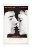 JOHN AND MARY, US poster, from left: Dustin Hoffman, Mia Farrow, 1969 Posters