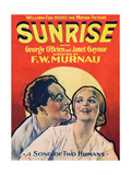 SUNRISE (aka SUNRISE: A SONG OF TWO HUMANS); from left: George O'Brien Posters