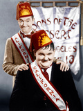 SONS OF THE DESERT, from left: Stan Laurel, Oliver Hardy, (aka Laurel & Hardy), 1933 Prints
