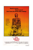 THE WICKER MAN, US poster, from top: Diane Cilento, Christopher Lee, Britt Ekland, 1973. Giclee-tryk i høj kvalitet