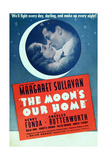 THE MOON'S OUR HOME, US ad art, from left: Margaret Sullavan, Henry Fonda, 1936 Posters