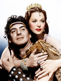 SAMSON AND DELILAH, from left: Victor Mature, Hedy Lamarr, 1949 Posters