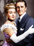 THE BAD AND THE BEAUTIFUL, from left: Lana Turner, Kirk Douglas, 1952 Posters