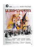 THE FEARLESS VAMPIRE KILLERS, (aka LE BAL DES VAMPIRES), French poster,  1967 Reprodukcje