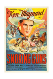 SMOKING GUNS, Ken Maynard, 1934. Prints