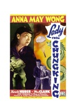 LADY FROM CHUNGKING, top: Anna May Wong, 1942 - Poster