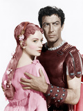 QUO VADIS, from left: Deborah Kerr, Robert Taylor, 1951 Photo
