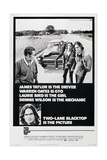 TWO-LANE BLACKTOP Posters