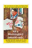 TO KILL A MOCKINGBIRD, Gregory Peck, 1962 Poster