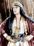 THE SHEIK, Rudolph Valentino, 1921 Photo