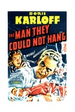 THE MAN THEY COULD NOT HANG, Boris Karloff, Lorna Gray, Robert Wilcox, 1939 Art
