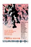 A BRIDGE TOO FAR, poster art, 1977 Umělecké plakáty