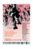 A BRIDGE TOO FAR, poster art, 1977 Print