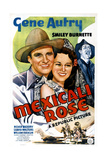 MEXICALI ROSE, US poster, from left: Gene Autry, Luana Walters, William Farnum, 1939 Posters