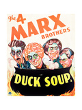 DUCK SOUP, Groucho Marx, Harpo Marx, Chico Marx, Zeppo Marx, 1933 Posters