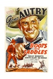 BOOTS AND SADDLES, Gene Autry, 1937 Posters