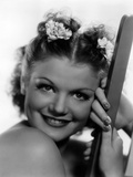 Simone Simon, publicity shot, ca. 1936. ©20th Century Fox, TM & Copyright / Courtesy: Ever… Print