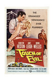 TOUCH OF EVIL, Charlton Heston, Janet Leigh, Orson Welles, 1958 Art