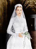 THE WEDDING IN MONACO, Grace Kelly, 1956 Photo
