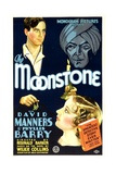 THE MOONSTONE, David Manners, Phyllis Barry, John Davidson, 1934 Plakater