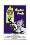 COUNTESS DRACULA, US poster , Ingrid Pitt, 1971 Pósters