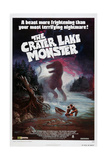 THE CRATER LAKE MONSTER, US poster, 1977 Prints
