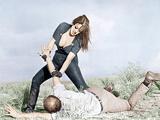 FASTER, PUSSYCAT! KILL! KILL!, from top: Tura Satana, Paul Trinka, 1965 Poster
