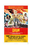 DRUM, US Poster, from left: Warren Oates, Pam Grier, Ken Norton (hands on hips), 1976 Posters