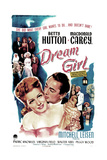 DREAM GIRL, US poster, Betty Hutton, Macdonald Carey, 1948 Posters