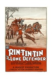 THE LONE DEFENDER, Rin Tin Tin, 1930 Print