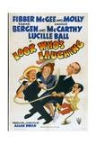 LOOK WHO'S LAUGHING, Jim Jordan, Marian Jordan, Edgar Bergen, Charlie McCarthy, 1941 Posters