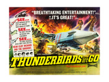 THUNDERBIRDS ARE GO, poster art, 1966 Print