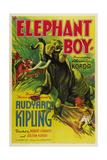 ELEPHANT BOY, 1937. Posters