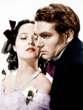 WUTHERING HEIGHTS, from left: Merle Oberon, Laurence Olivier, 1939 Prints