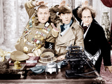 YOU NAZTY SPY, from left: Curly Howard, Moe Howard, Larry Fine, [aka The Three Stooges], 1940 Photo