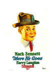 THERE HE GOES, Harry Langdon, 1925 Prints