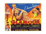GLAMOUR, center: Constance Cummings, 1934. Posters
