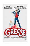 GREASE, John Travolta, Olivia Newton-John, 1978, © Paramount Pictures/courtesy Everett Collection Premium Giclee Print