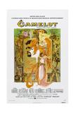 Camelot, US Poster, Richard Harris, Vanessa Redgrave, 1967 Prints