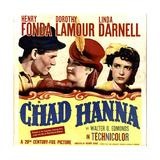 CHAD HANNA Prints