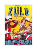 ZULU, Italian poster art, 1964. Plakat