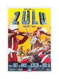ZULU, Italian poster art, 1964. Premium giclée print