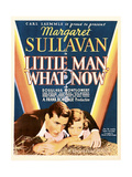 LITTLE MAN, WHAT NOW, US poster art, from let: Douglass Montgomery, Margaret Sullavan, 1934 Art