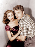 CRISS CROSS, from left: Yvonne De Carlo, Burt Lancaster, 1949 Photo