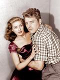 Criss Cross, Yvonne De Carlo, Burt Lancaster, 1949 Photo